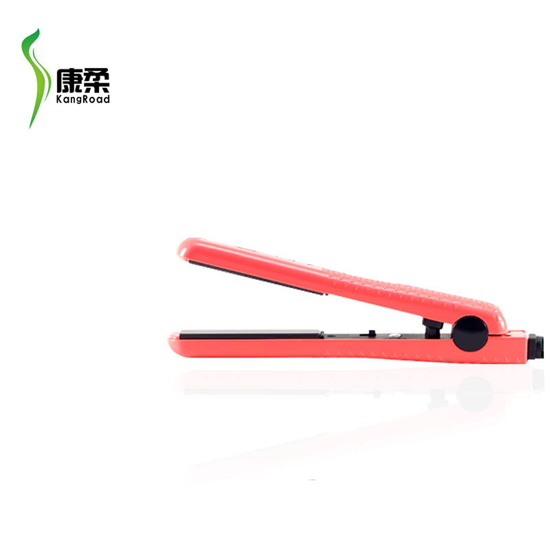 <strong>Mini</strong> Professional <strong>Flat</strong> <strong>Iron</strong> Floating Plates Hair Straightener For Travel