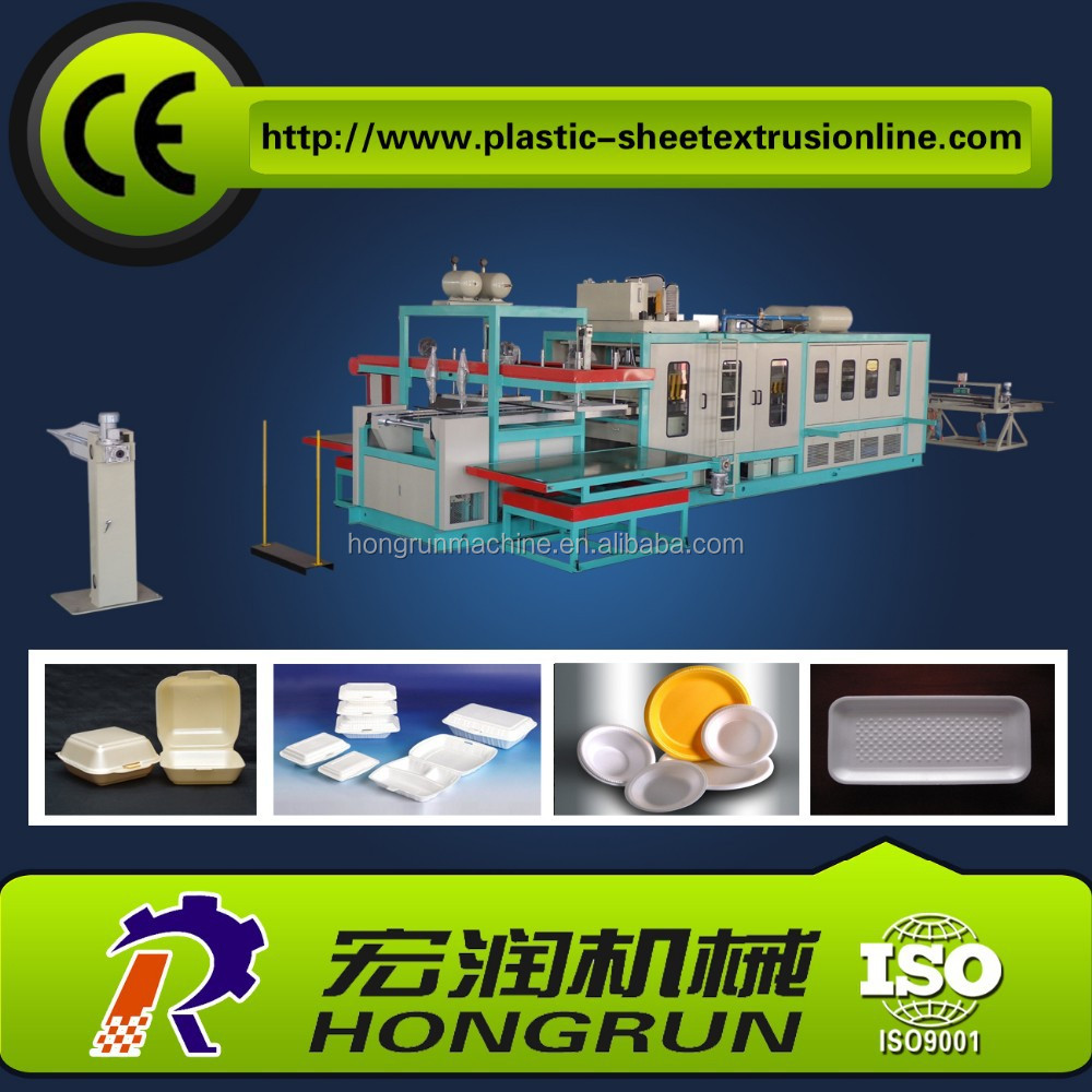 automatic ps foam thermoforming machine