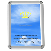factory price round or mitred corner aluminum picture photo frame for sale