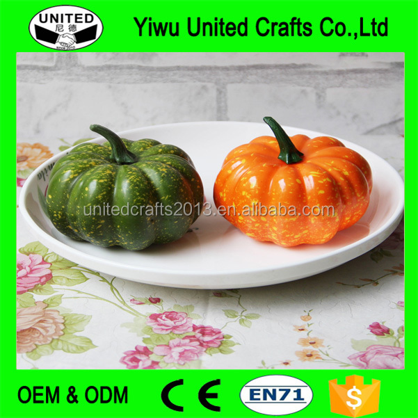 Outdoor Decorating Pumpkins, Garden Pumpkins Decor, Fake Pumpkins Craft