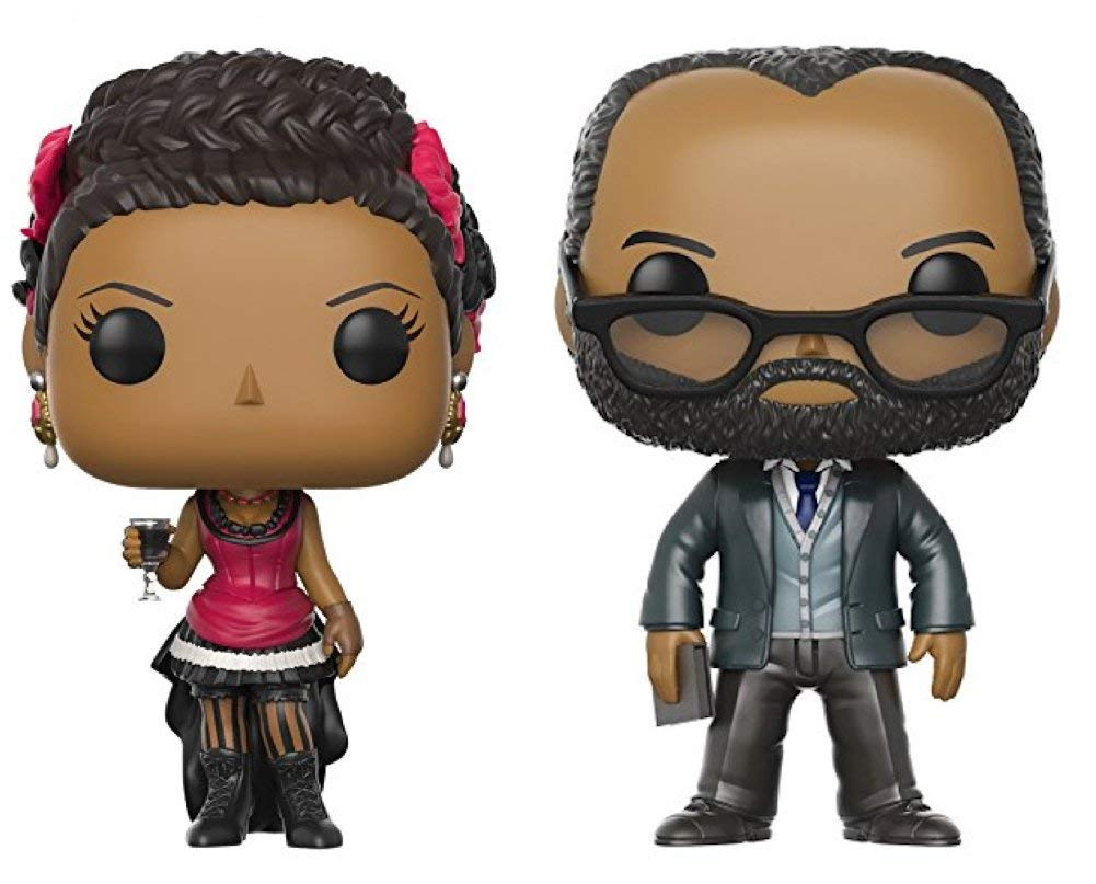 Funko POP! Television Westworld Maeve and Bernard Figure Set of 2