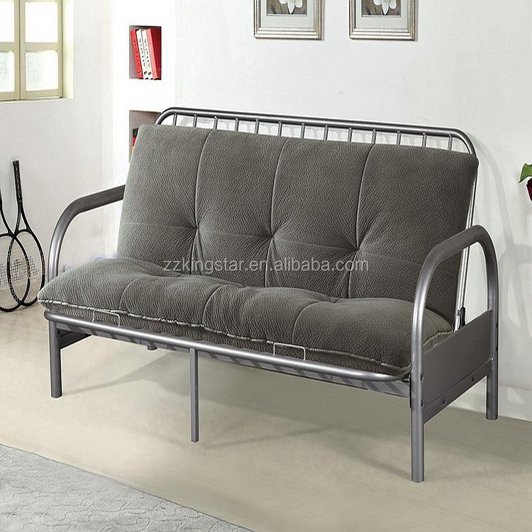 Usage Folded Futon Bed Metal Home Furniture Sofa Product On Alibaba Com