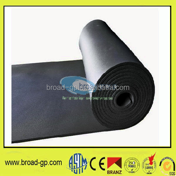 natural foam rubber insulation roll