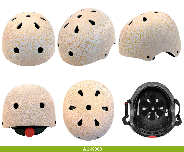 High Quality mirrored skate helmet 13