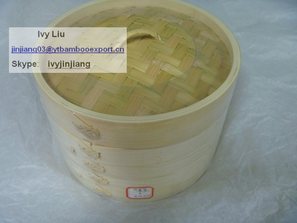 Chinese kitchenware Bamboo Dim Sum Steamer Cooker