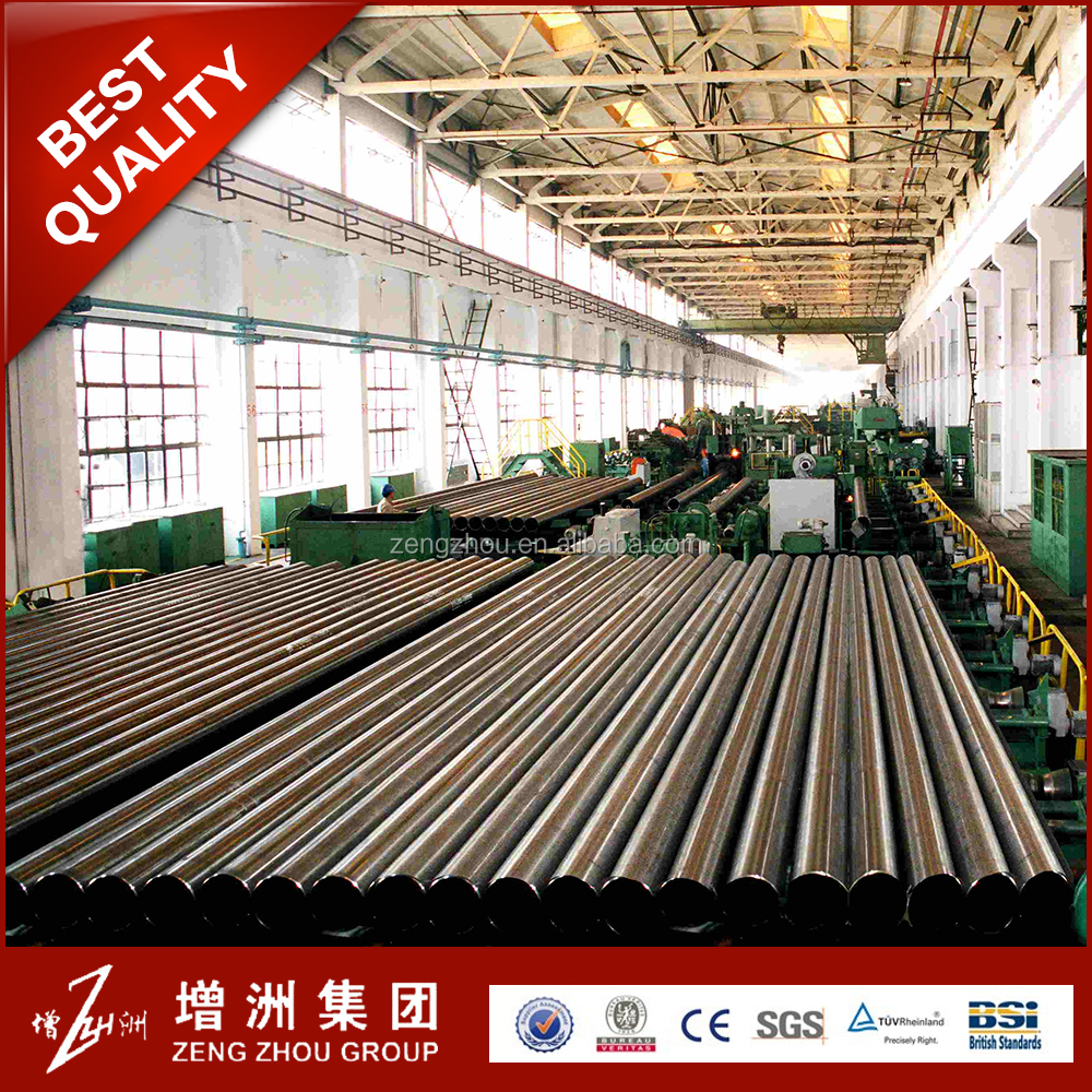 Good quality! ASTM ERW iron carbon welded black steel tube
