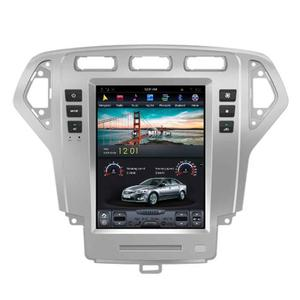 "Android 7.1 operation system 10.4"" navigation digital touch screen car DVD player 2007-2010 BT gps 3g TV 2 din"