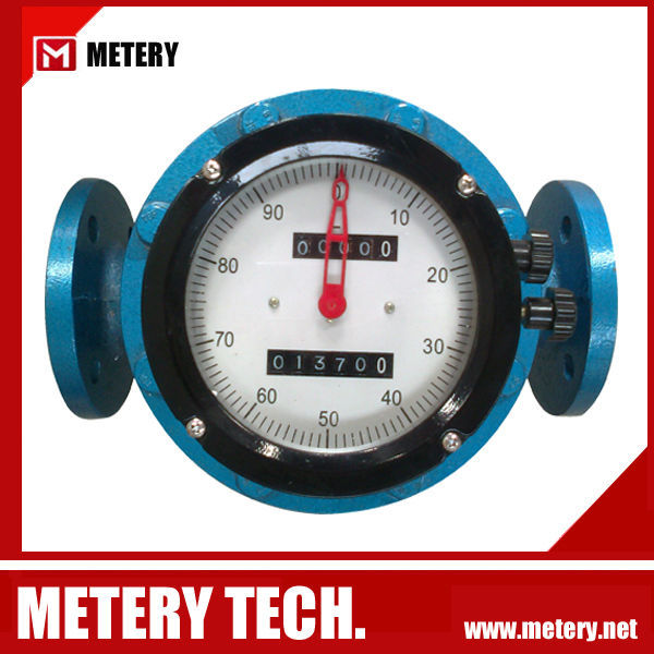 Oval gear Flow meter PD meter diesel gasoline