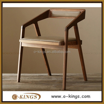 low price modern classic solid wood frame restaurant dining chair