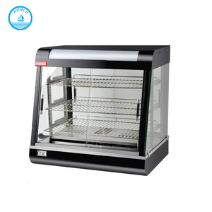 Restaurant kitchen equipment buffet equipment electric stainless steel french fries display warmer / food warmer display