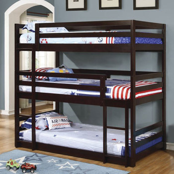 New Design 3 Levels Tier Adult Military Wooden Triple Bunk Bed Buy