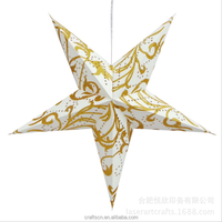 Decorative Hanging Paper Star Lantern for Christmas