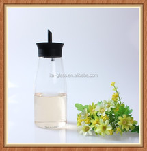 352ml one jar double use wall vinegar dispenser glass cruet bottle vinegar oil