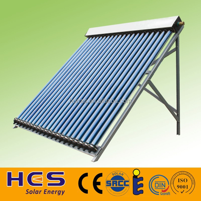 New Srcc Keymark Approved Heat Pipe Evacuated Tube Solar Collector ...