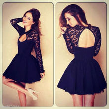 Women Summer Bandage Lace Evening Sexy Ball Gown Party Mini Dress