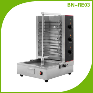 Gyro Equipment Electric Shawarma Machine 3 Controllers with CE approval