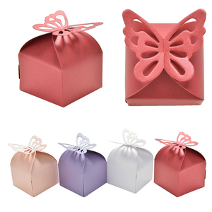 Chenghai Hot DIY Party Butterfly Candy Box Paper Favors Gifts Boxes for Wedding Decoration