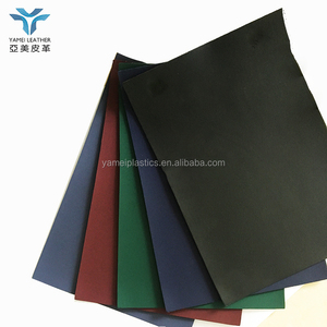 PVC book cover synthetic leather for stationery