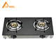 Euro Portable Tempered Glass Temperature Control Propane Gas Cooking Stove With Pulse Igniter