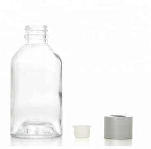 Boston Round Shape Empty Bottle Great for Storing Essential Oils 85 ml Aromatherapy Oils Storage Glass Bottles