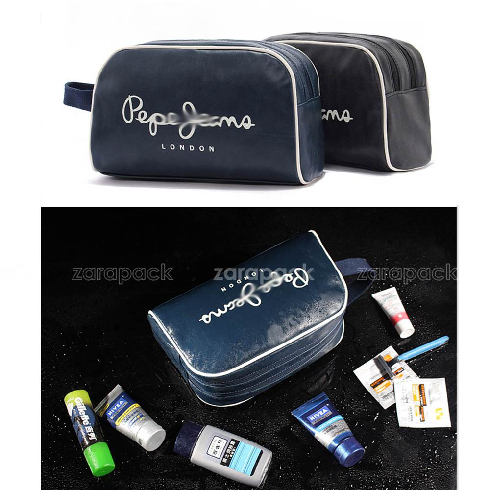 a474af85ea0c Wholesale Designer Brand Trendy Business Men Toiletry Bag Travel ...