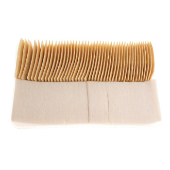unbleached organic cotton makeup pads square