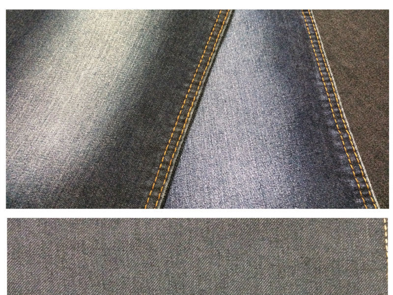 9.5oz katoen 10s aufar 58 inch/polyester/spandex stretch denim geweven textiel