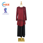Zakiyyah E005 Latest Dubai Modern Turkish Abaya Online Fashion Simple With Black Dress