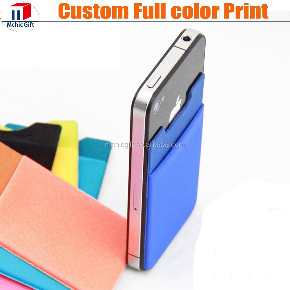 New brand smart wallet mobile card holder with great price