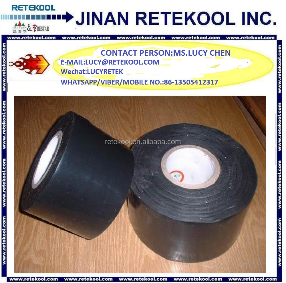 Air Conditioner black pvc wrapping tape