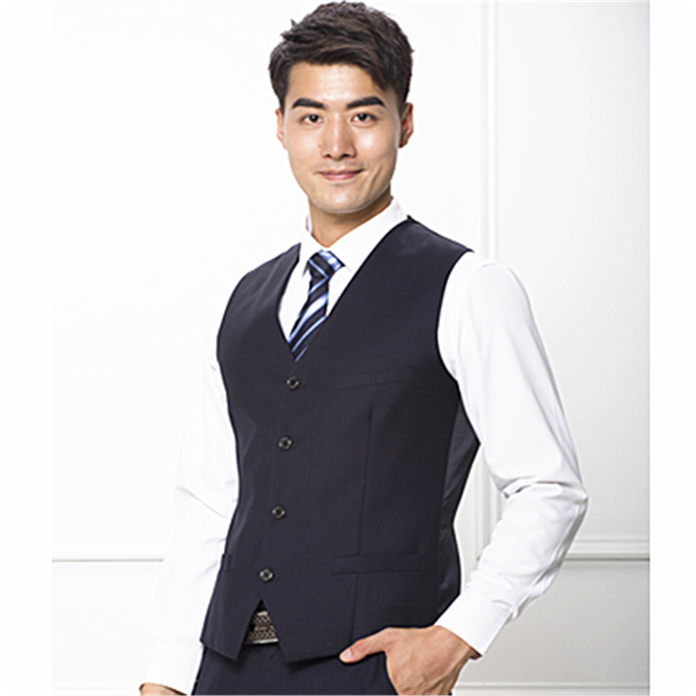 The latest Popular and Fashionable Men's Slim-fit Suit Vest