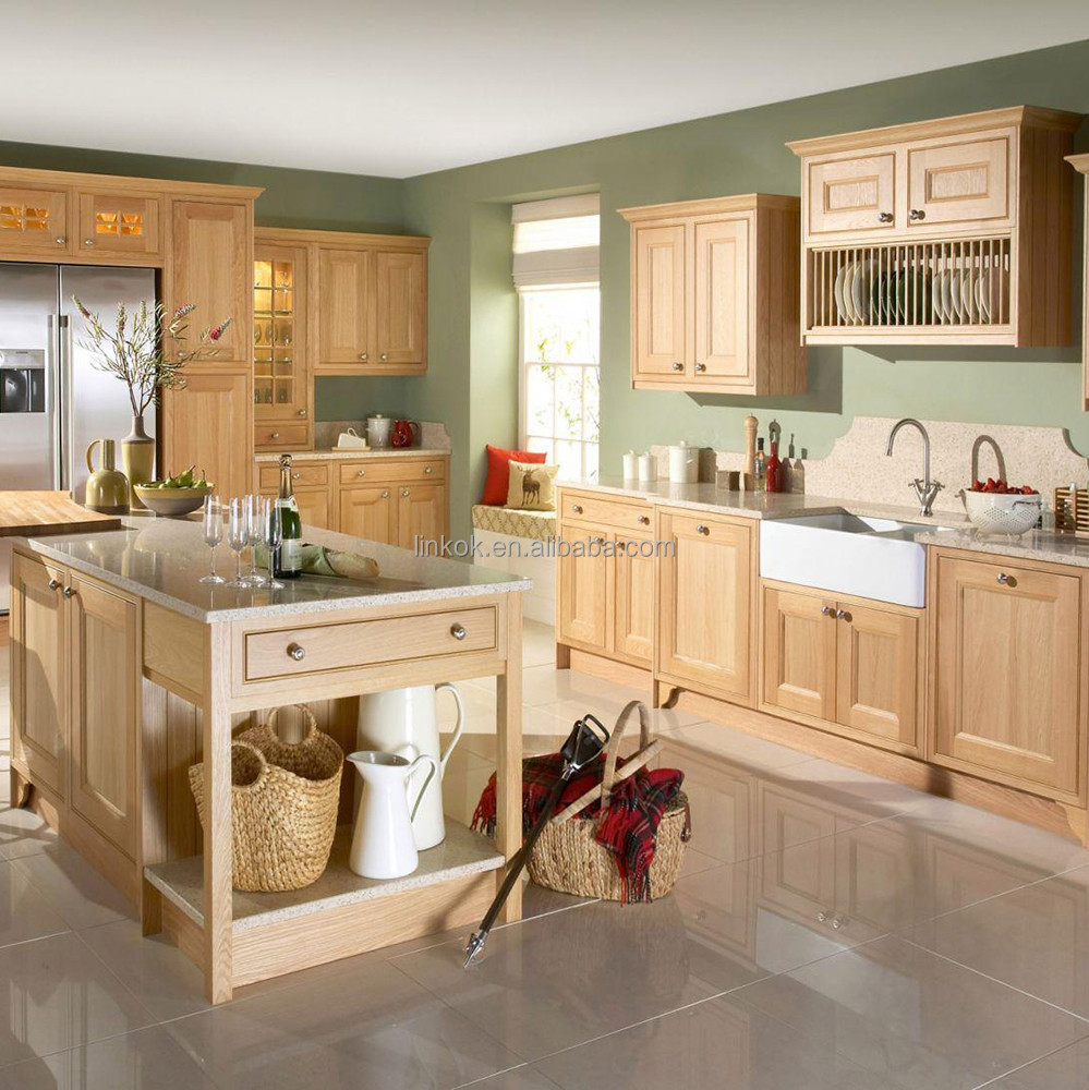 amerikanischen traditionellen küche insel buche massivholz küchen ... - Amerikanische Kche Insel