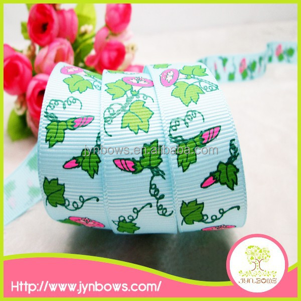 2015 Hot sale colorful custom factory price jacquard ribbon