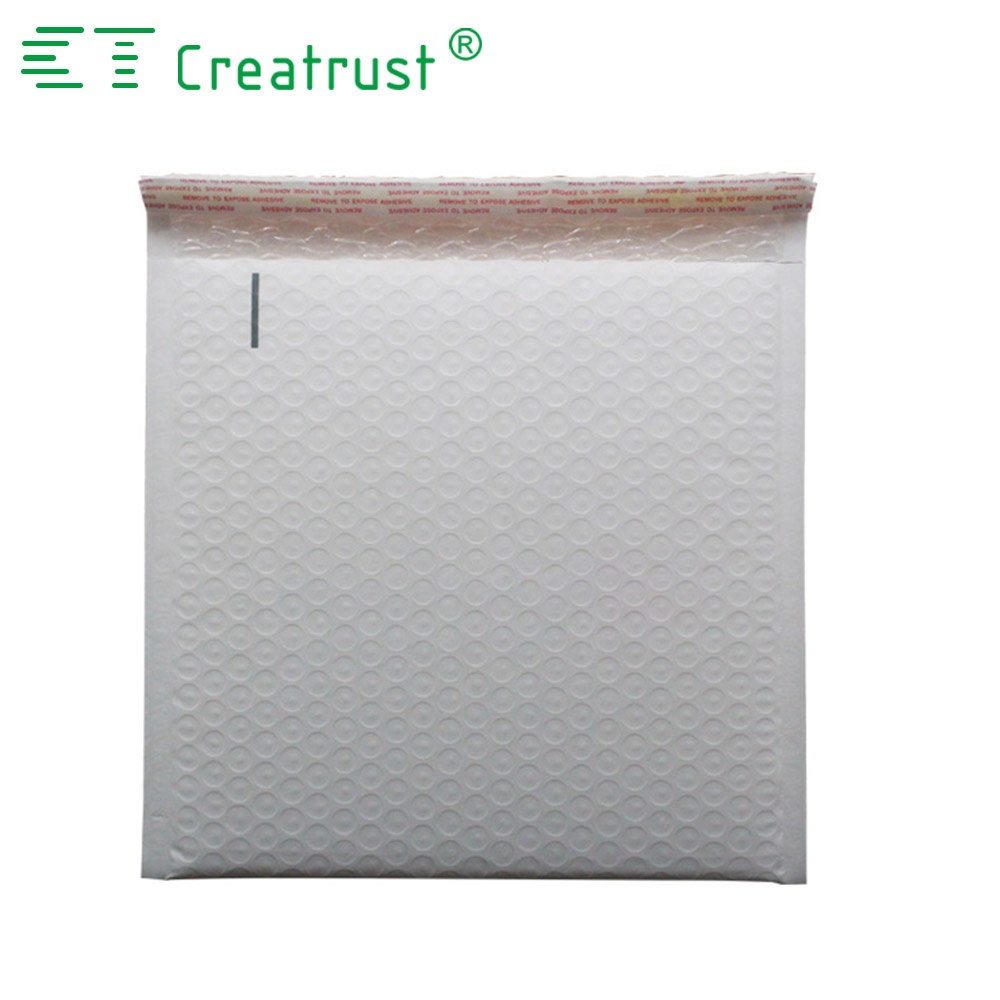 Custom Printed Poly White Bubble Mailer Shipping Envelopes Packaging Padded Envelopes