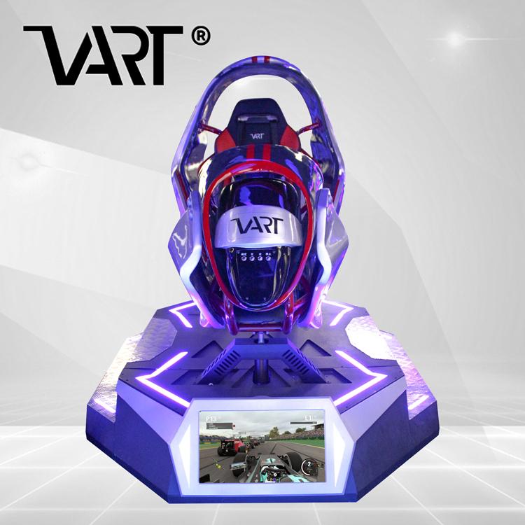Panyu Longcheng Machine VR Dynamic Motion Race Car Driving 9D VR Racing Simulator