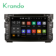 "Krando Android 7.1 7"" car dvd radio with gps player for Kia Ceed 2006-2012 multimedia navigation WIFI BT KD-KC712"