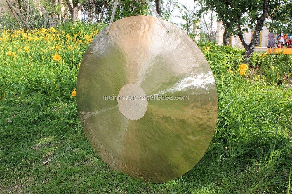 "MK brand percussion instruments/30""Chinese wind gong /antique gong"
