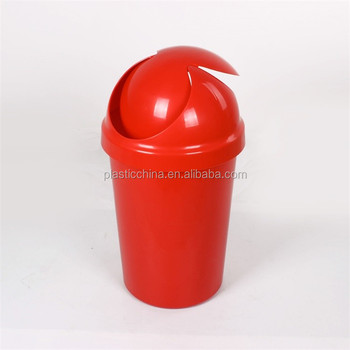 Household cleaning 50L swinger lid kitchen bin waste recycling plastic swinger lid kitchen bin