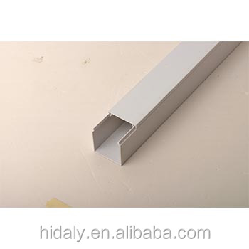 25X16mm Thickness 0.70mm PVC Cable Trunking/ Plastic Channel Duct
