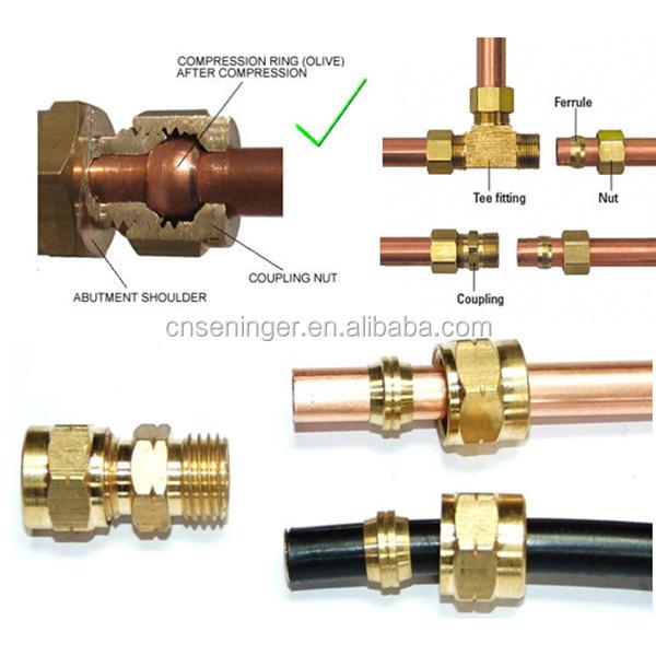 Brass Swagelok Compression Union Fitting Buy Brass