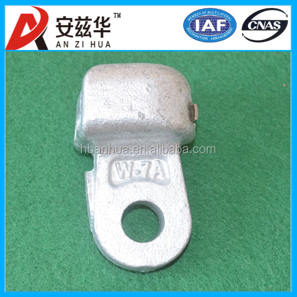 overhead line hardware electric fitting socket clevis with split pin
