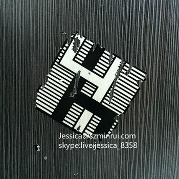 minrui supply custom fragile paper eggshell graffiti sticker do not