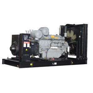 Installation fixed diesel generator , power generator natural gas