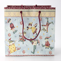 BSCI, FSC Cheap Promotional Recycled Custom Made Christmas Paper Gift Bag