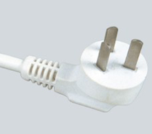 China 3 pin power cord extension cords