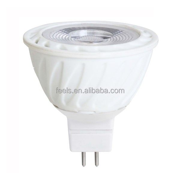 super bright 12v mr16 7w led spotlight with 3 years warranty