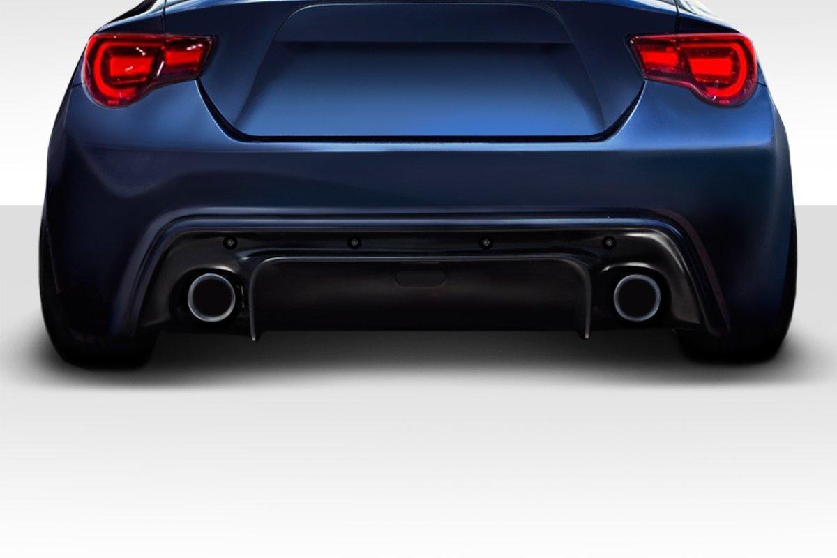 Rear Bumper Lip Diffuser Fits 2002-2003 Subaru Impreza HT Style Black ABS Add on Aftermarket Replacement Parts Rear Splitter by IKON MOTORSPORTS