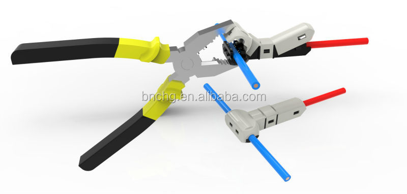 2014 newest quick connect waterproof wire terminal connectors 2 25 rh alibaba com quick connect terminal connectors Quick Splice Wire Connectors