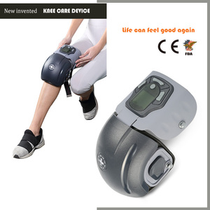 New invented vibrative heating electric knee massager