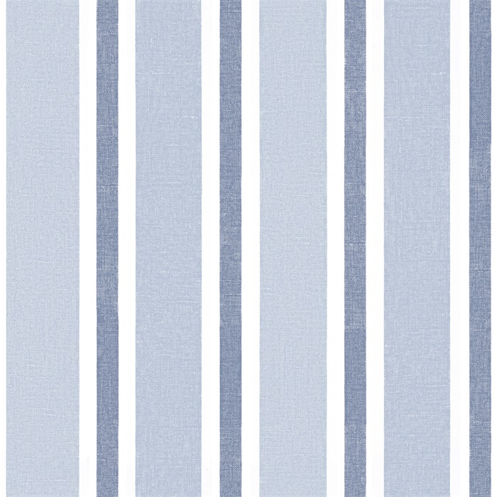 english style blue striped wallpaper for kids room